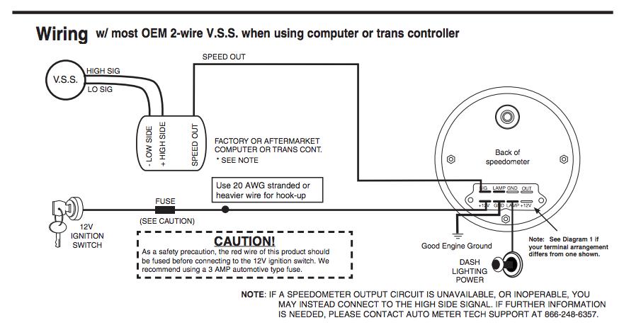 Gen V LT1LT4 VSS signal information Super Daves Classic Car – Ls3 Vss Wiring Diagrams
